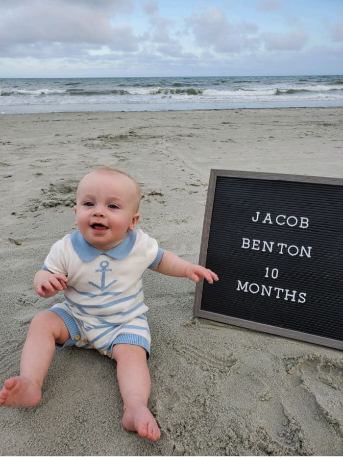 Jacob at 10 months old