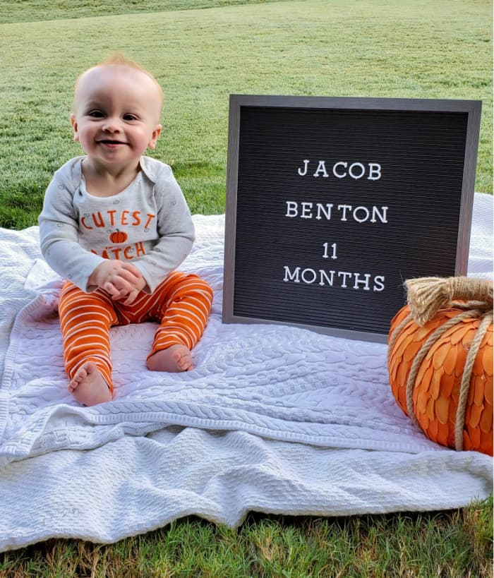 Jacob at 11 months