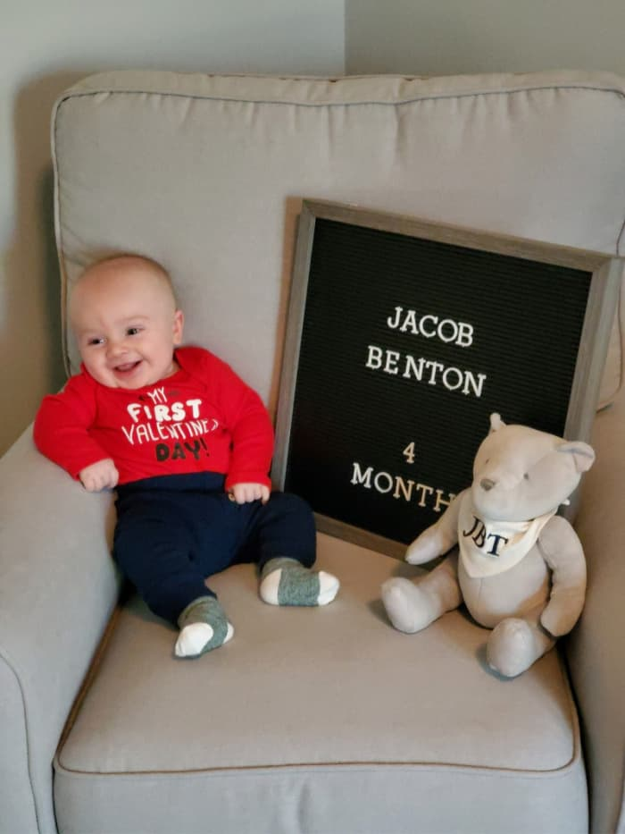 Jacob at 4 months old