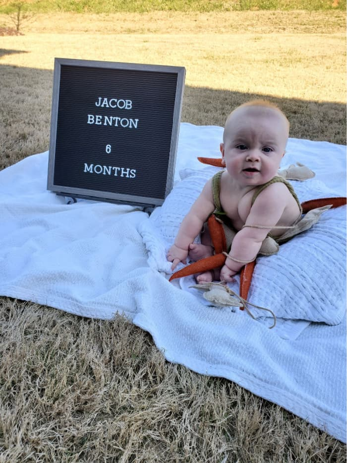 Jacob at 6 months old