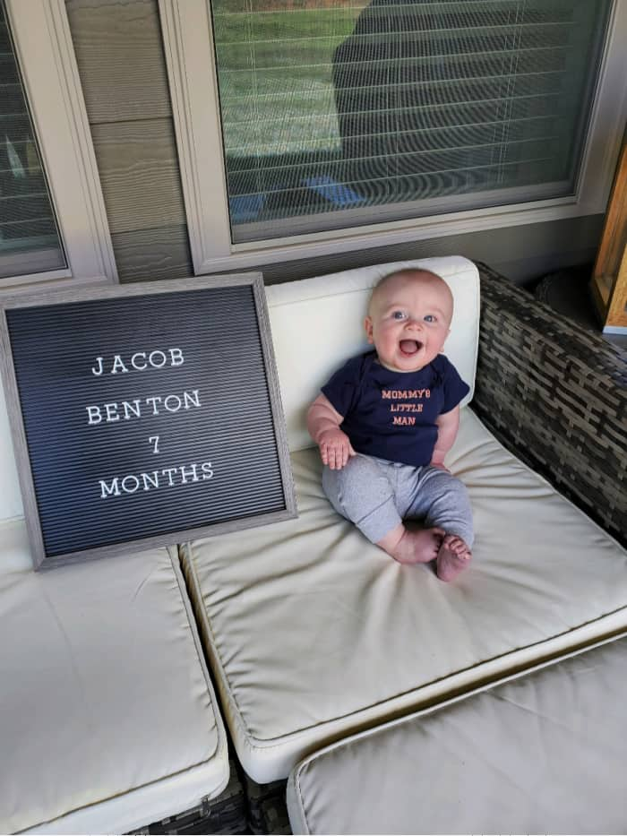 Jacob at 7 months