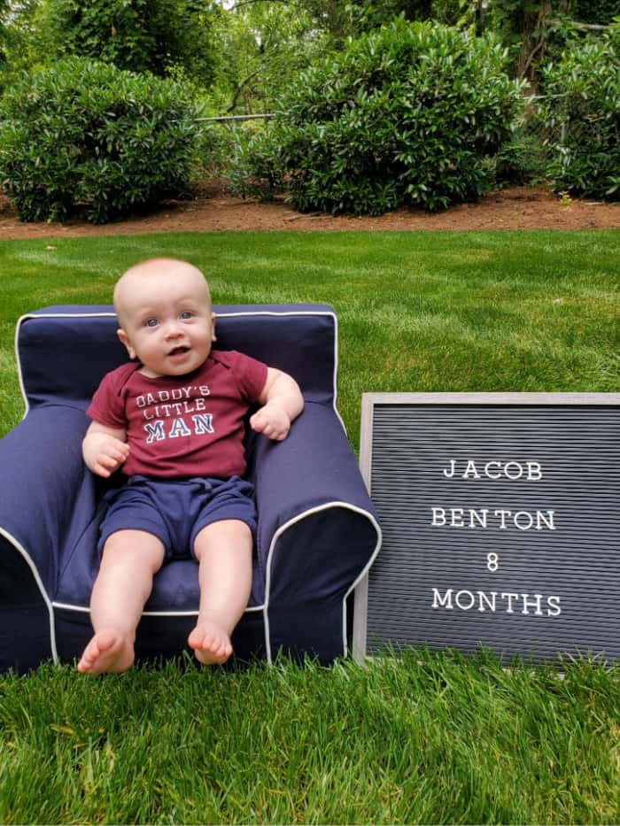 Jacob at 8 months