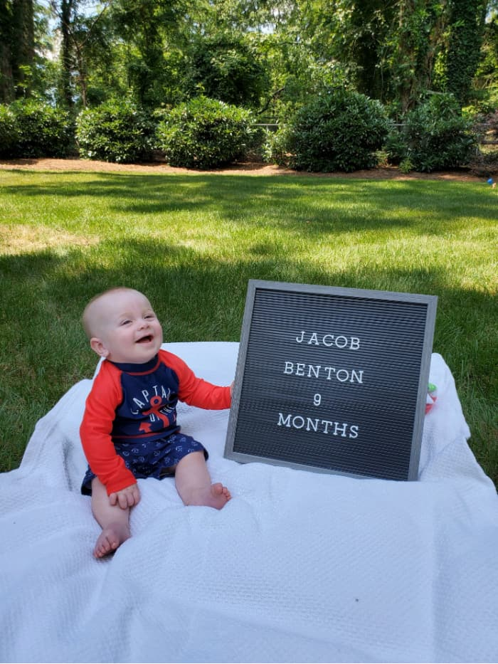 Jacob at 9 months