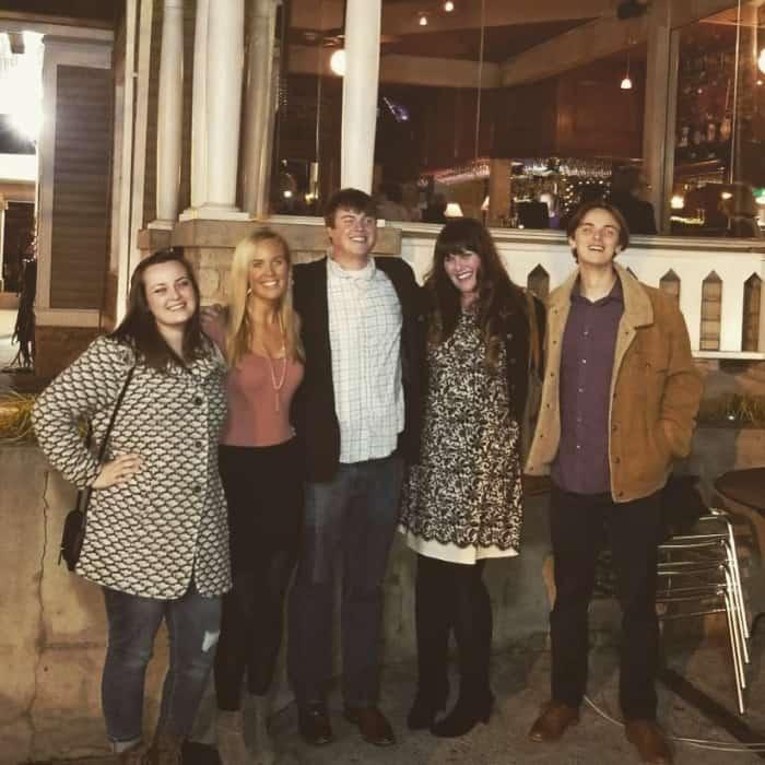 Lindsey and siblings