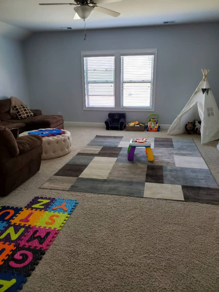 After picture of the new playroom.