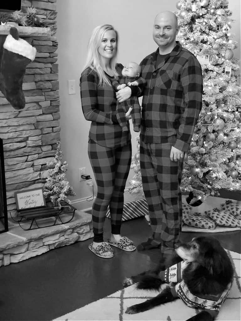 Family Christmas pajama pic 2019